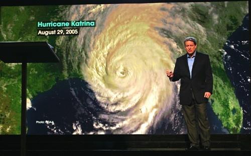 Al Gore in  Una scomoda verità