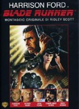 La copertina DVD di Blade Runner