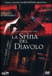 La copertina DVD di La spina del diavolo