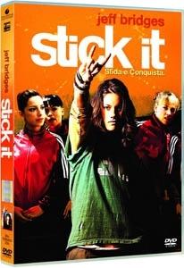 """La copertina DVD di Stick It ??"""" Sfida e Conquista"""