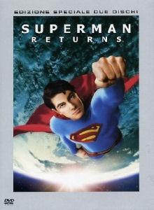 La copertina DVD di Superman Returns - Edizione speciale