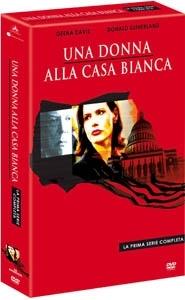 La copertina DVD di Una donna alla Casa Bianca - Stagione 1