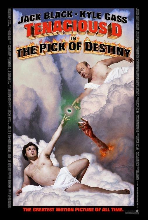 La locandina di Tenacious D e il destino del rock