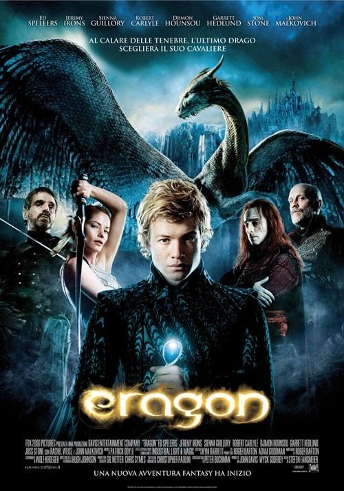 La locandina italiana di Eragon