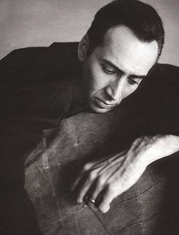 un bel ritratto di Nicolas Cage