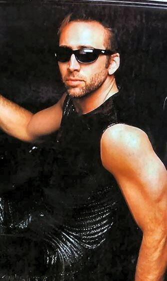 Nicolas Cage in versione sexy