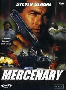 La copertina DVD di Mercenary