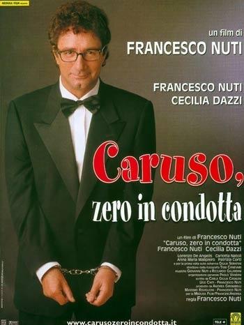 La locandina di Caruso, zero in condotta
