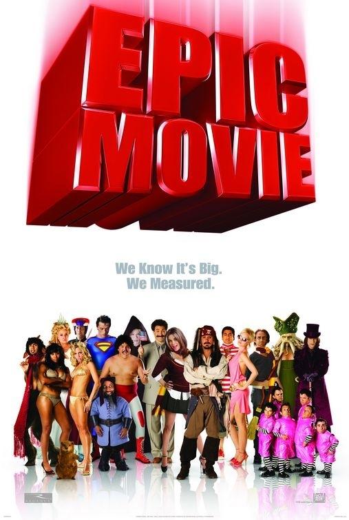 La locandina di Epic Movie
