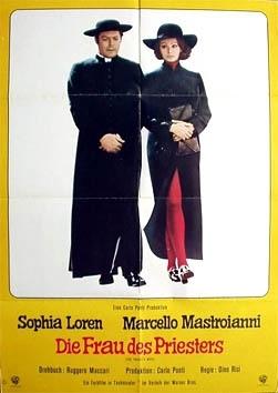 La locandina di La moglie del prete