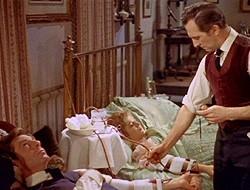 Una scena del film Dracula il vampiro
