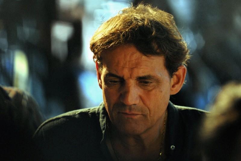 Francesco Salvi in una sequenza del film L'ultima battuta