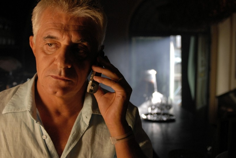 Franco Oppini in una scena del film L'ultima battuta