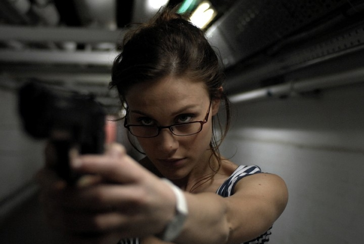 Gabriella Pession in una scena del film TV Rapidamente