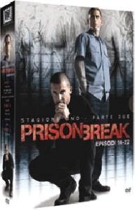 La copertina DVD di Prison Break - Stagione 1 Parte seconda