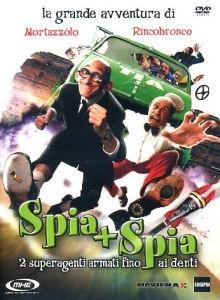 La copertina DVD di Spia + Spia - 2 superagenti armati fino ai denti