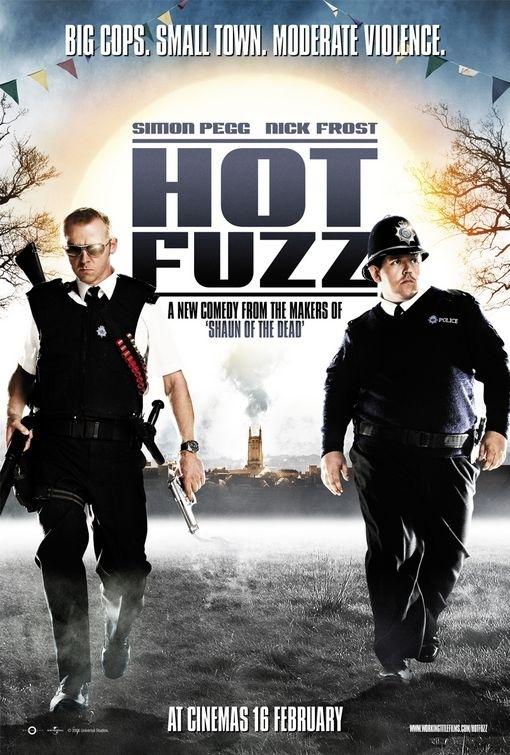La locandina di Hot Fuzz