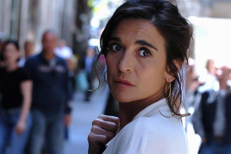Lina Sastri in una scena del film televisivo Il covo di Teresa