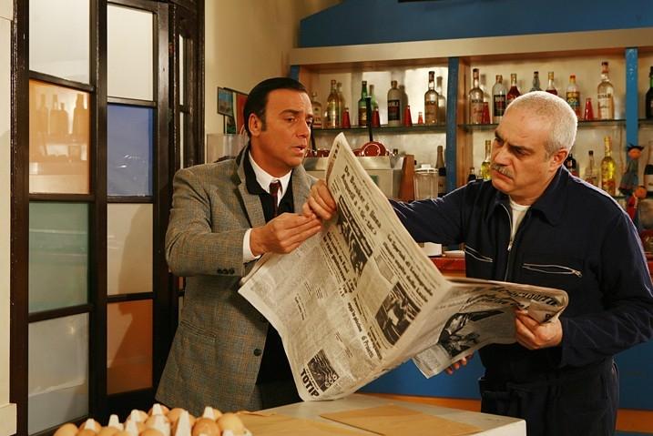 Massimo Ghini in una scena di 'Raccontami'