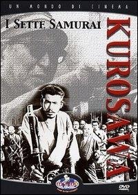 La copertina DVD di I Sette Samurai