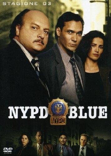 La copertina DVD di NYPD Blue - Stagione 3