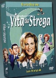La copertina DVD di Vita da Strega - Stagione 4