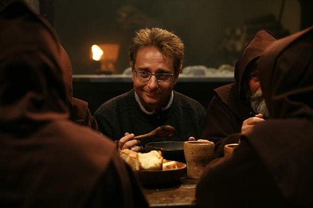Paolo Bonolis in una scena del film di D'Alatri, Commediasexi