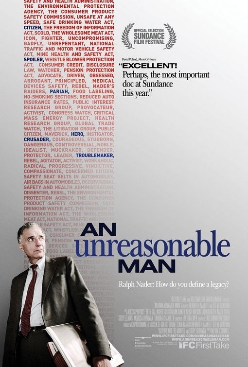 La locandina di An Unreasonable Man