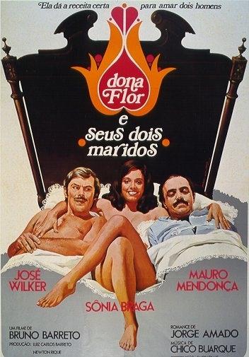 La locandina di Donna Flor ed i suoi due mariti