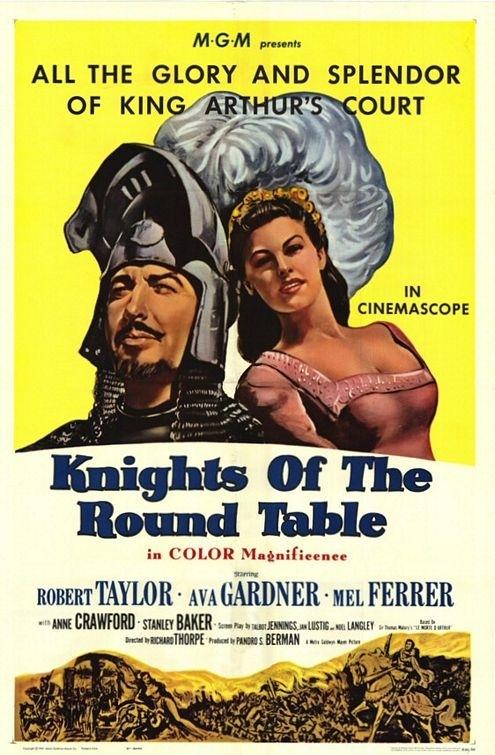 La locandina di I cavalieri della Tavola Rotonda