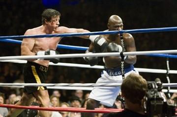 Sylvester Stallone e Antonio Tarver in Rocky Balboa