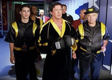 Sylvester Stallone, Milo Ventimiglia e Burt Young in Rocky Balboa