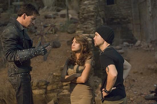 Nicolas Cage in una scena di Ghost Rider (2007)