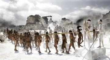 Una scena del film Apocalypto di Mel Gibson