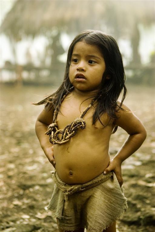 Una piccola protagonista del film Apocalypto