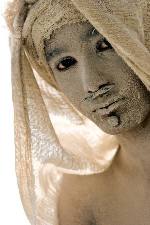 Uno dei volti del film Apocalypto
