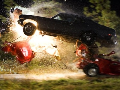 Una scena 'esplosiva' del film Grind House