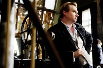 Christopher Nolan sul set di 'The Prestige'