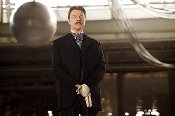 David Bowie in una scena di 'The Prestige'