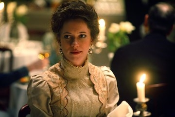 Rebecca Hall in una scena di 'The Prestige'