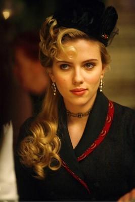 La bella Scarlett Johansson in una scena di 'The Prestige'