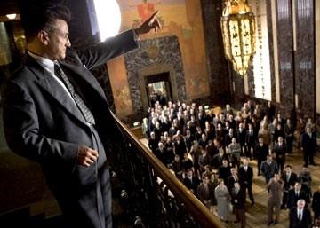 Sean Penn in una scena del film Tutti gli uomini del re