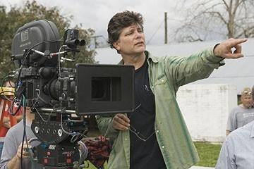 Steven Zaillian sul set del film Tutti gli uomini del re