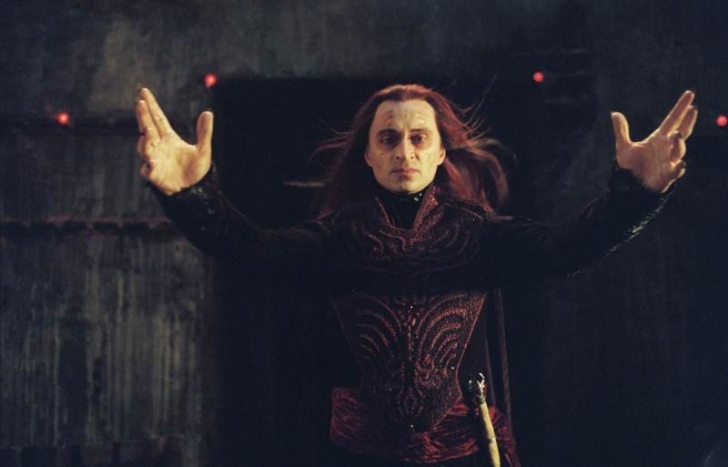 Robert Carlyle in una sequenza di Eragon