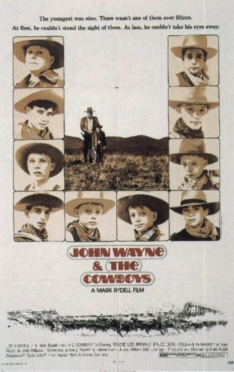 La locandina di I cowboys