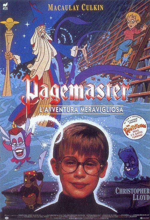 La locandina di Pagemaster - l'avventura meravigliosa