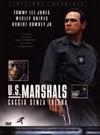La locandina di U.S. Marshals - Caccia senza tregua