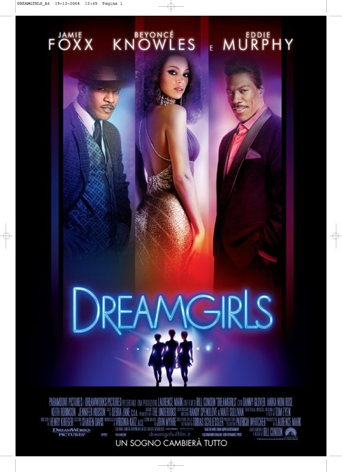 La locandina italiana di Dreamgirls