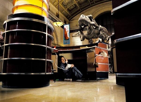 Ben Stiller in una scena del film Una notte al museo