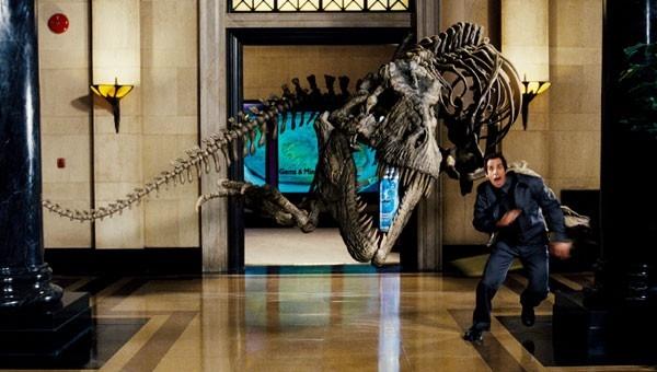 Ben Stiller in una scena del blockbuster Una notte al museo